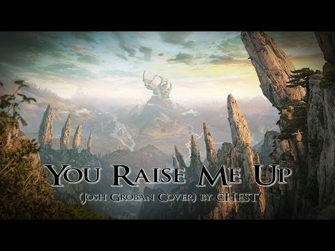 YOU RAISE ME UP - (Josh Groban Cover) by CHEST [METAL COVER]