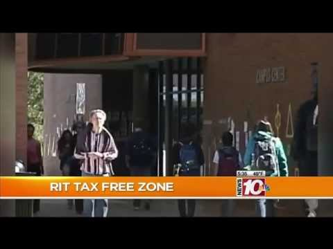 RIT on TV: New building & tax free business opportunity report on WHEC