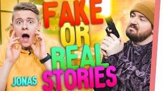 Ins GEFÄNGNIS wegen LIEBESBRIEFEN? | FAKE or REAL Stories mit JONAS