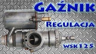 WSK 125 Регулювання карбюратора
