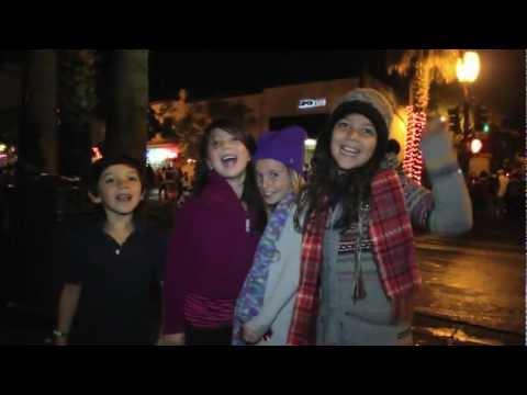 Downtown Santa Barbara Holiday Parade 2012