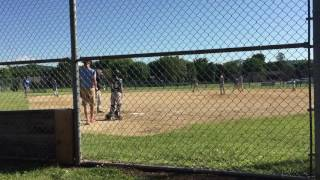 Out of the park grand slam|11u baseball
