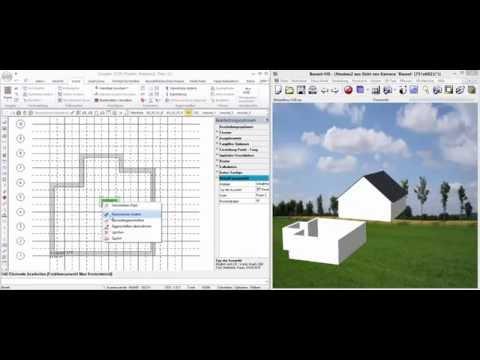 Bauset Cad konstruktion mit bauset architektur cad version 15