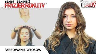 Farbowanie włosów. FryzjerRoku.tv