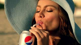 David Beckham Sofia Vergara Diet Pepsi Beach Twitter