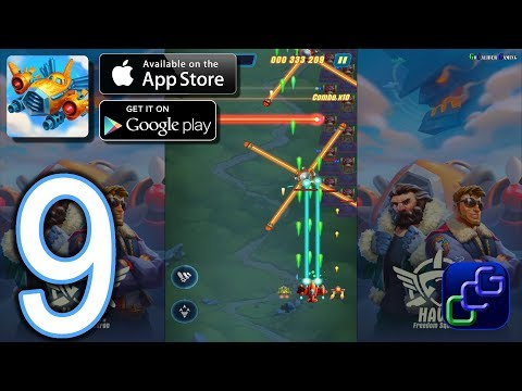 HAWK Freedom Squadron Android IOS Walkthrough - Part 9 - Stages 21-27 EASY
