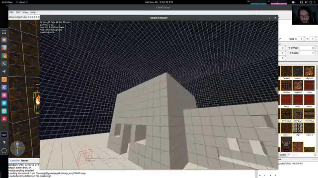 NEON STRUCT level editor + 3D level editing
