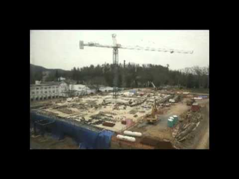 Casino Club at The Greenbrier - Construction Time Lapse