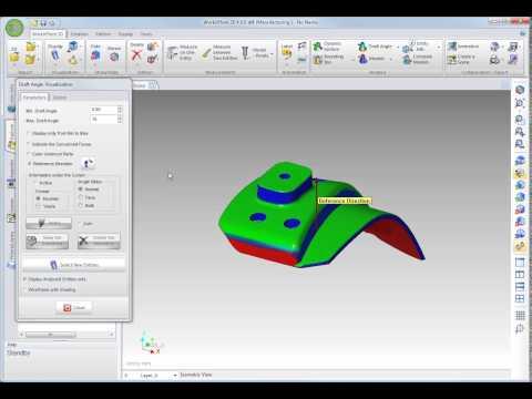 測定 & 形状検証 - ドラフト角解析