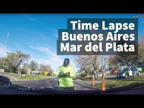 Time Lapse Buenos Aires Mar del Plata