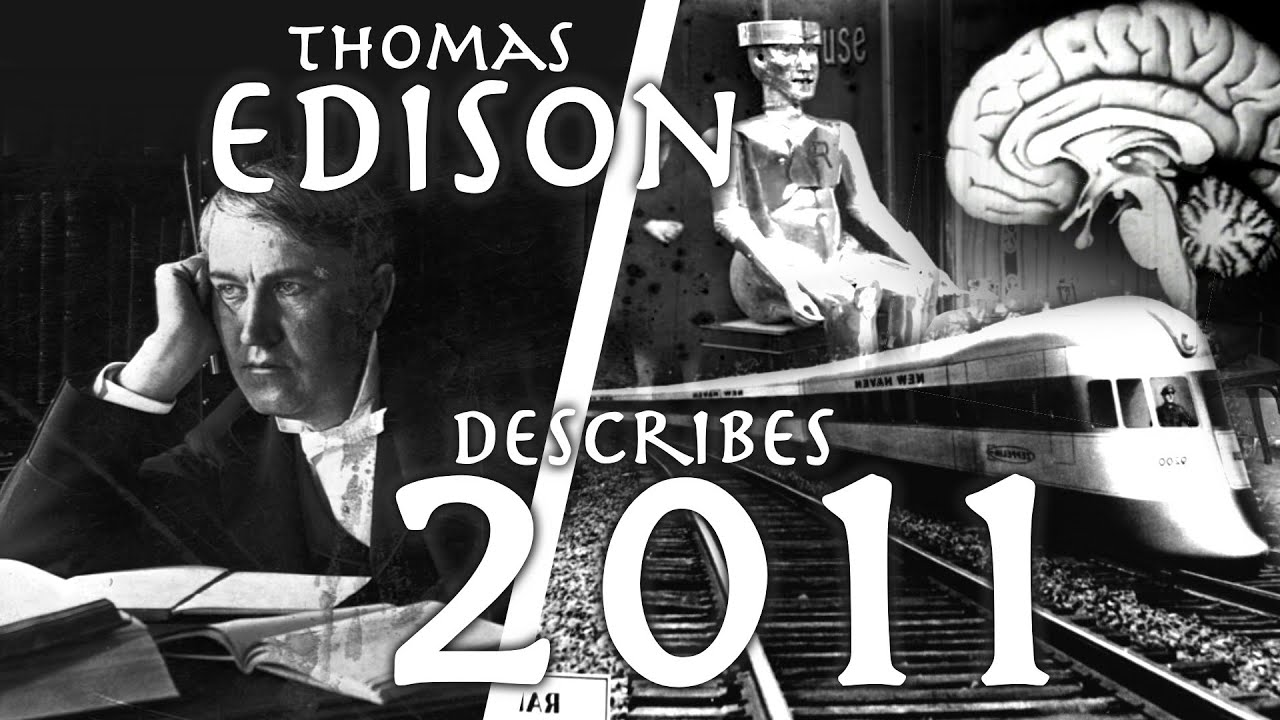 Thomas Edison Predicts the 20th Century // Kindles and Bumblebee Helicopters // Cosmopolitan (1911)