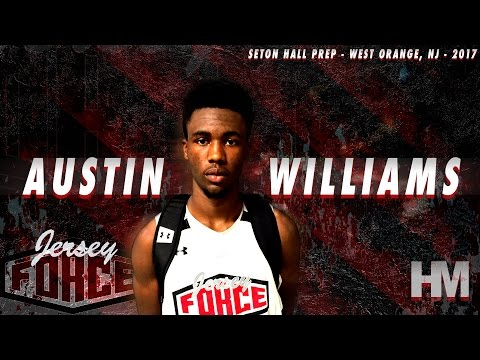 Austin Williams is a MAJOR SLEEPER! '17 Jersey Guard Summer Highlights!