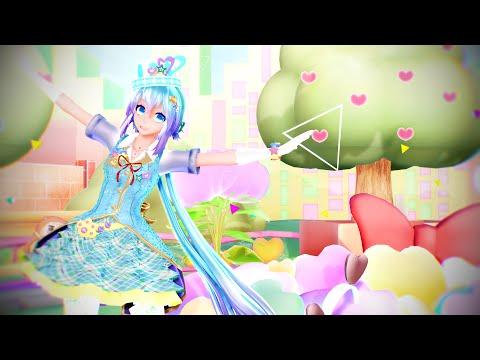 MMD TDA 60fps(G.I.F.T.):Candy Candy (Aoki Lapis)