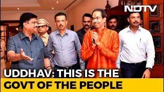 Uddhav Thackeray, New Maharashtra Chief Minister, Holds First Cabinet Meet