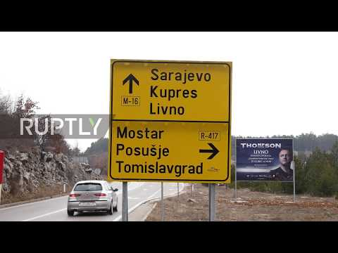 Bosnia and Herzegovina: Anonymous sign at Kamensko border stirs controversy