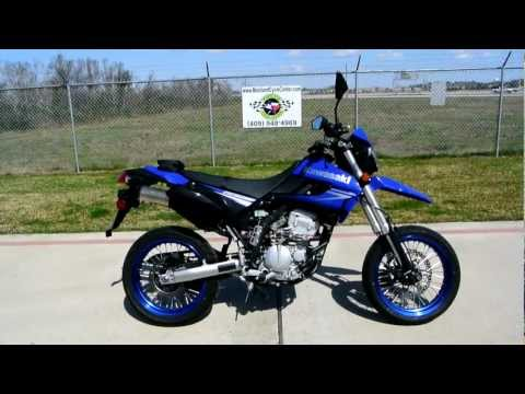 On sale $3,999: 2010 Kawasaki KLX250SF Supermoto
