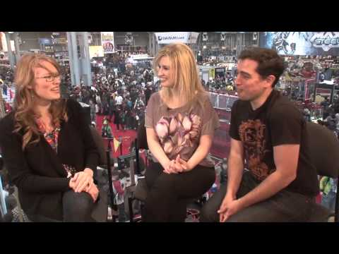 NICOLA SCOTT Explains Why She Took On EARTH 2 @ NYCC2013 | Video