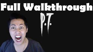 P.T. Full Walkthrough Part 1 Gameplay Let