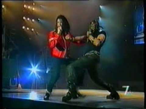 Michael Jackson Come Together / D.S. Live Bucharest 1996 HD