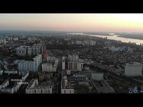 Самара / Советский и Октябрьский районы / Drone Flight / Russia
