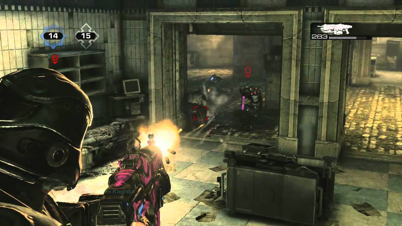 Gears Of War 3 New Maps Horde Command Pack Dlc Blood Drive Gameplay