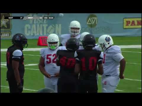 Pearson Hill Pro Football Hall of Fame 8th Grade All American Game Highlights