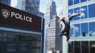 PS4 Spider-man Free Roam vs The Amazing Spider-man 2 Short Comparison