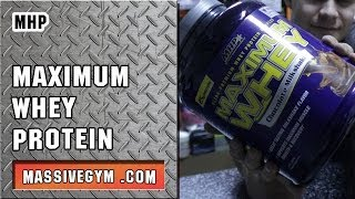 MG Обзор - Протеин Maximum Whey (MHP) - MassiveGym.com(, 2013-11-17T03:31:22.000Z)