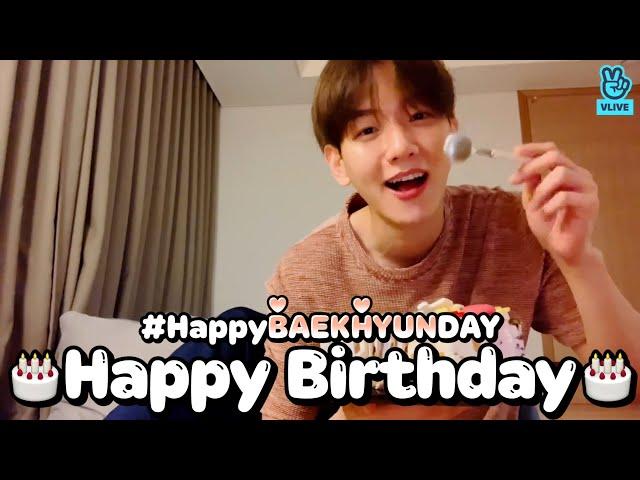 (ENG sub) [VLIVE] EXO - HAPPY BAEKHYUN DAY!
