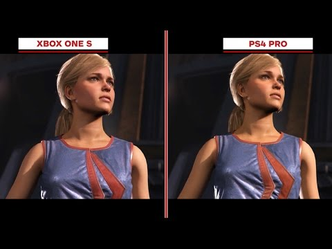 Injustice 2 Graphics Comparison: Xbox One S vs. PS4 Pro