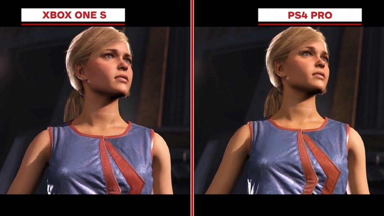Injustice 2 Graphics Comparison: Xbox One S vs. PS4 Pro ...Ps4 Pro Graphics Vs Xbox One X