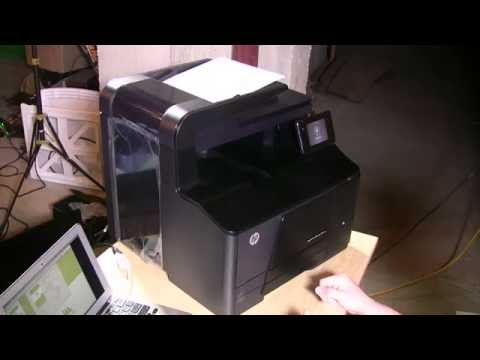 HP LaserJet Pro 200 Color MFP Printer Review - M276nw