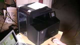 How to Reset HP LaserJet Pro 200 color MFP M276nw