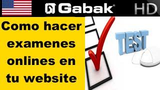 Como hacer Exámenes online en tu website con wordpress