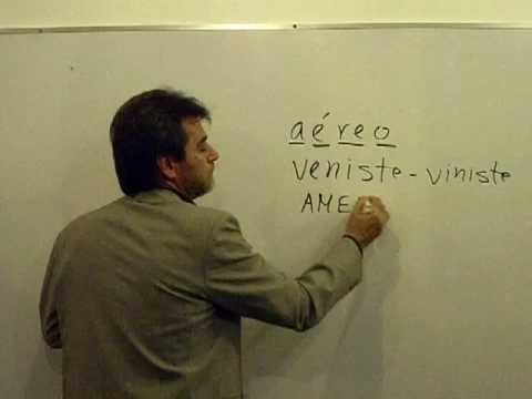Vídeo Curso de ortografia