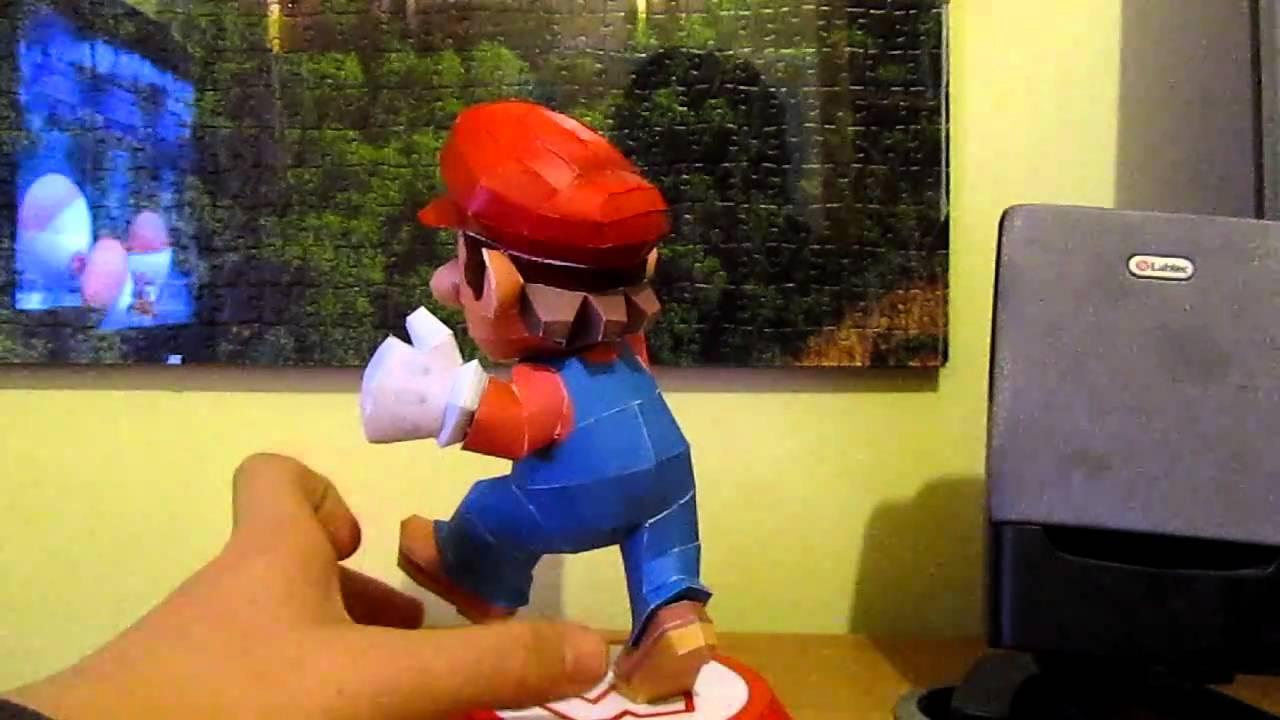 Papercraft Paper Mario 3D by EldeTabernas