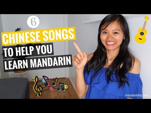 Learn Chinese With these 6 Mandarin Songs I with Pinyin & English Subtitles