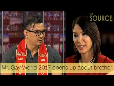 Mr. Gay World 2017 opens up about his brother - CNN News Philippines - John Raspado