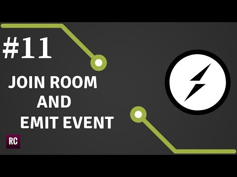 Socket.io & WebSockets #11 - Join Room And Emit Event To Room