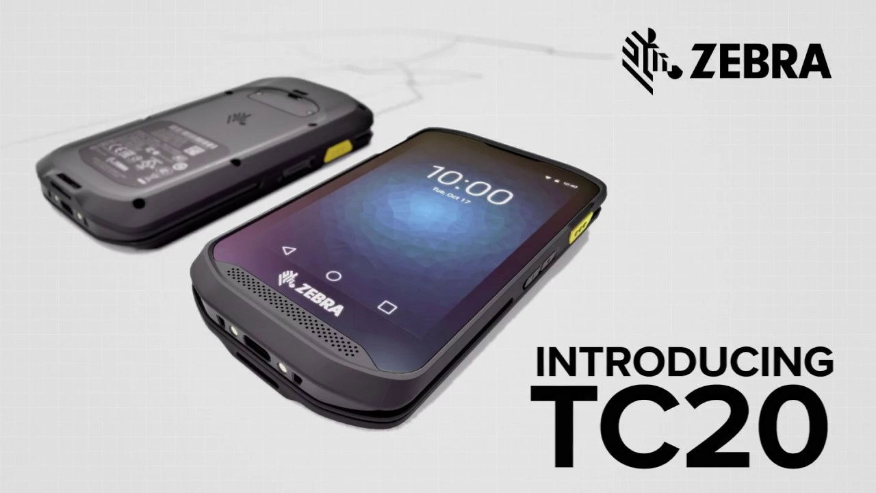Zebra TC20 - Built in Barcode Scanner for Real Time-Savings