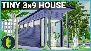 Tiny 3x9 House - The Sims 4 House Build