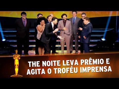 Troféu Imprensa 2016 - The Noite ganha prêmio e agita o Troféu Imprensa