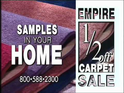 Empire Today - Cutting Prices Commercial From 2002