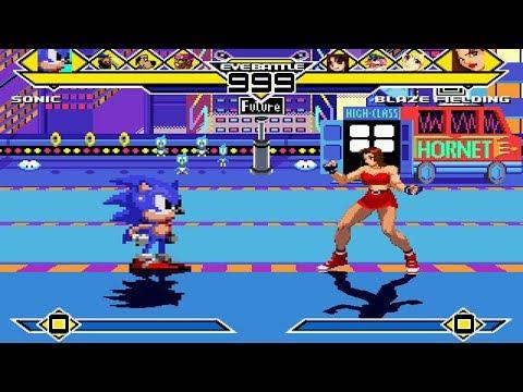 Team Boys vs Team Girls 4v4 Turns #1 MUGEN 1.0 Battle!!!