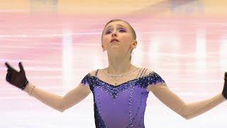 Софья Муравьева Короткая программа Девушки Кубок России 2020 21 Четвертый этап