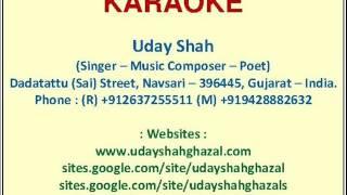 Karaoke = Aaya Hoon Tere Dar Pe Baba - Uday Shah