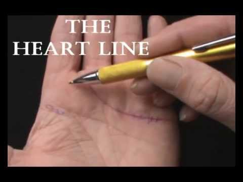 PALMISTRY-THE HEART LINE - JIM WINTER - YouTube