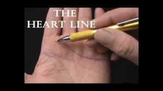 PALMISTRY-THE HEART LINE - JIM WINTER