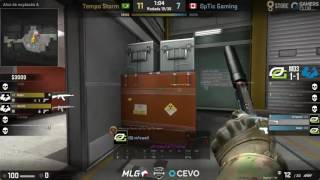 [595.59 KB] Optic being toxic to each other on the last map of the minor final