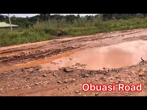 Kwaku Manu - I was shocked  when I DRIVE through OBUASI ROAD... Oh Ghana